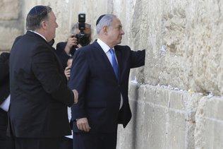 Mike Pompeo offre à Benjamin Netanyahu une image symbolique