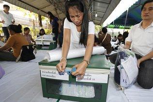 Premières élections thaïlandaises depuis le coup d'Etat de 2014
