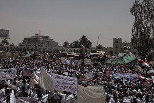 Soudan: les manifestants mobilisés en masse