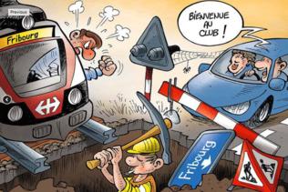 Les Fribourgeois insatisfaits du trafic en ville