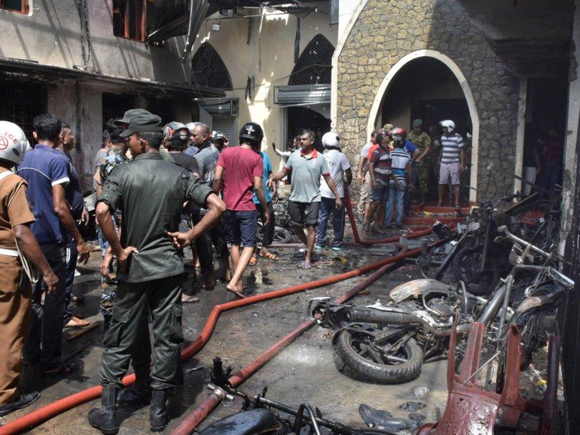Nouvelles explosions au Sri Lanka: au moins 207 morts