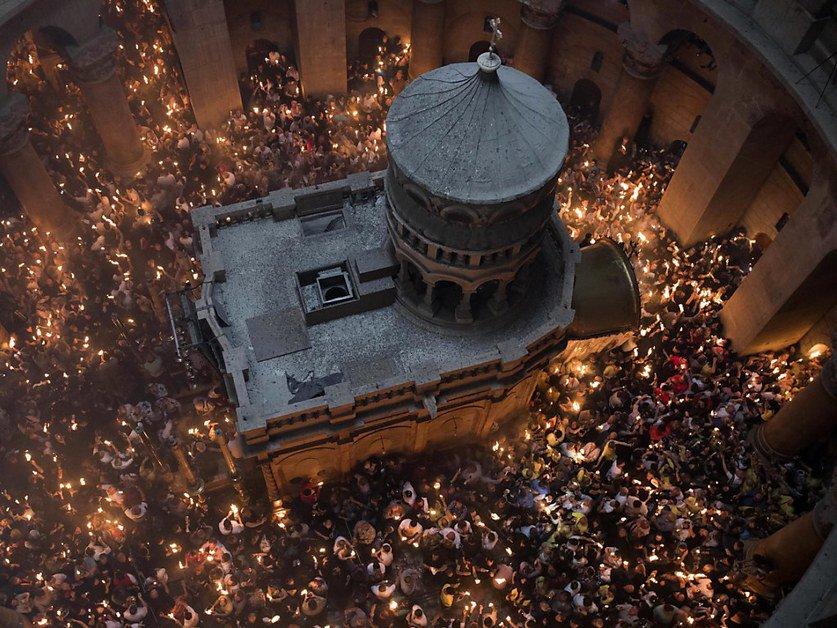 A Jérusalem, les catholiques célèbrent la résurrection du Christ
