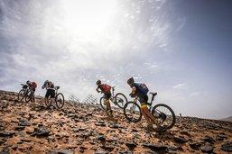 640 kilomètres en VTT dans le désert