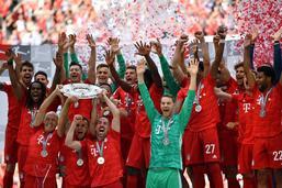 Le Bayern n'a pas flanché et s'adjuge le titre