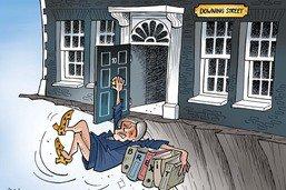 Theresa May proche du départ