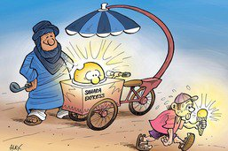 Attention! Coup de chaleur venu du soleil saharien