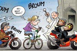 Fribourg: les cyclistes ont aussi envie de se trouver en sécurité