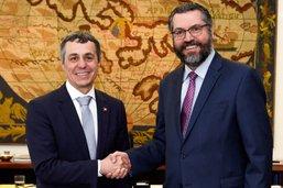 Ignazio Cassis pour une conclusion rapide du Mercosur