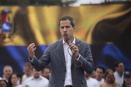 Juan Guaido réitère son appel à l'armée à le rejoindre