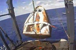 Une capsule Dragon de SpaceX totalement détruite le 20 avril