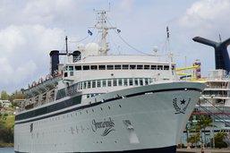 Un paquebot de la scientologie en quarantaine dans les Caraïbes