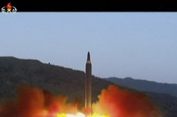 La Corée du Nord lance des missiles à courte portée en mer du Japon