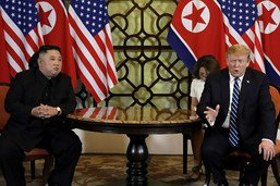 """Trump estime que la """"confiance"""" avec Pyongyang n'est pas entamée"""