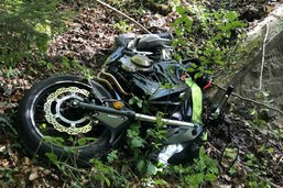 Une motarde grièvement blessée dimanche à Promasens