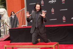 Keanu Reeves a laissé son empreinte dans la matrice d'Hollywood