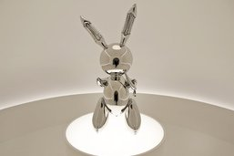 Un lapin de Jeff Koons vendu 91,1 millions de dollars, un record
