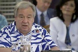 Guterres appelle à «sauver le Pacifique pour sauver le monde»