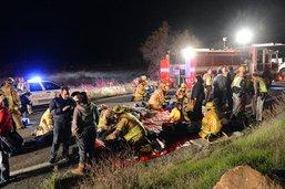 Au moins 21 morts dans un accident de bus dans le Veracruz