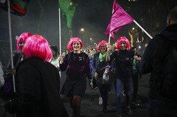 Des dizaines de milliers d'Argentines contre la violence machiste
