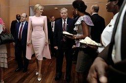 Ivanka Trump à Abidjan