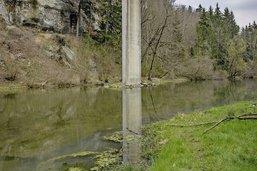 Un ruisseau pas toujours très net