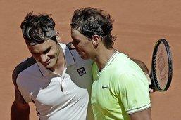 Rafael Nadal terrasse Roger Federer