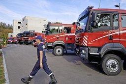 Les pompiers en plein remue-ménage