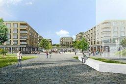 Un quartier de 128 logements à Châtel-Saint-Denis