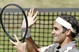 Roger Federer puissance dix à Halle
