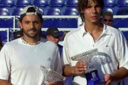 «J'ai gagné avec Nadal en double»