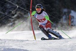 Ski alpin: pari gagné pour Valentine Macheret