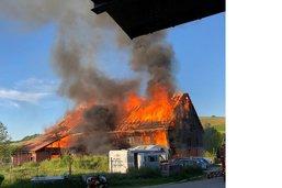 Incendie à Grangettes