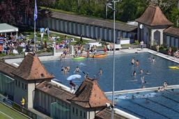 Les heures d'ouverture de la piscine de la Motta prolongées