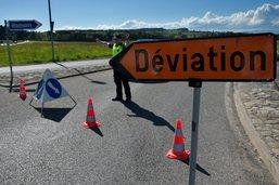 Restriction de circulation à Cournillens