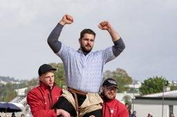 Benjamin Gapany remporte la fête fribourgeoise de lutte