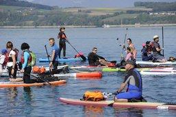 Tour du lac de Morat en stand up paddle annulé