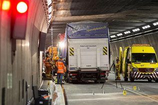 Tunnel du Gothard fermé après un accident mortel