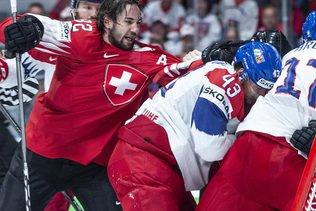 Une Suisse trop naïve contre les Tchèques