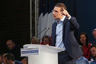 Le Rassemblement national, premier parti de France devant LREM