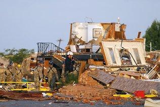 Une tornade fait 2 morts dans l'Oklahoma