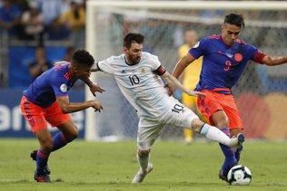 Copa America: la Colombie domine l'Argentine