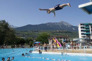 Près de neuf millions de francs pour la piscine de Sion
