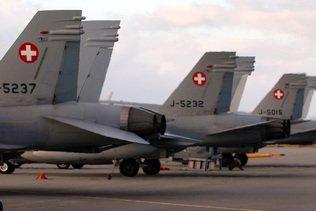 Le voie est ouverte pour une votation sur les jets de combat