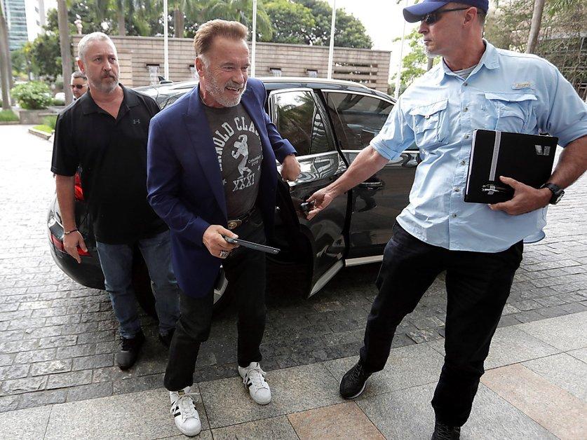 Schwarzenegger attaqué pendant un événement sportif à Johannesbourg