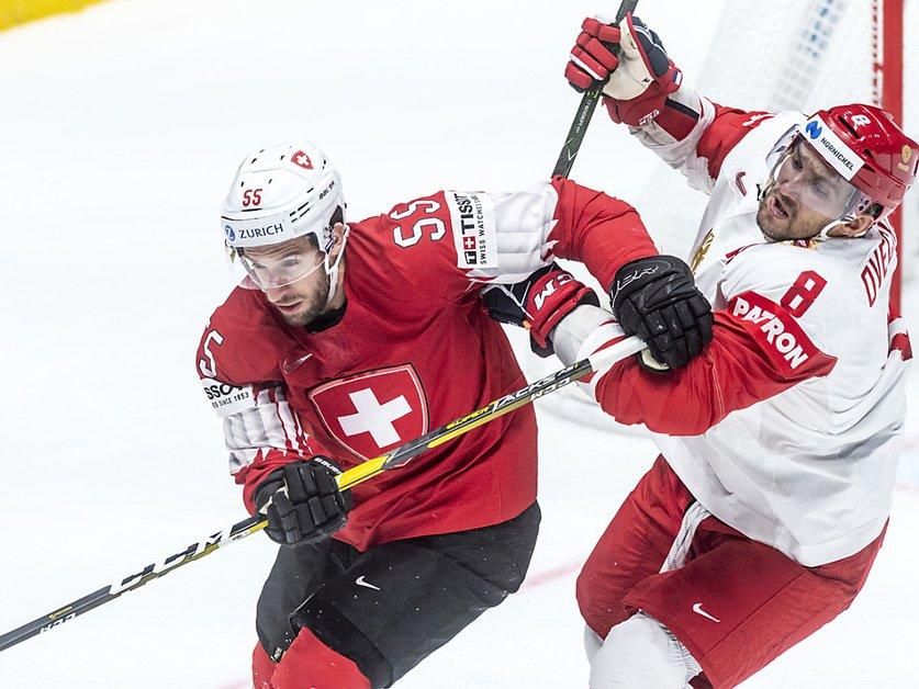 La Suisse encore une fois trop juste contre la Russie