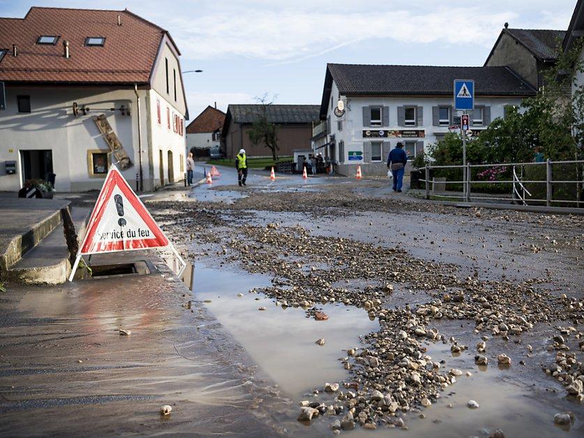 Intempéries: Axa table sur 3 millions de francs de dommages