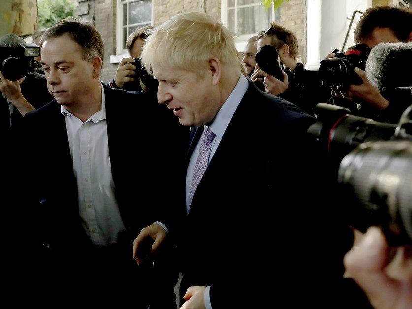 2e tour de l'élection à la présidence du tory britannique