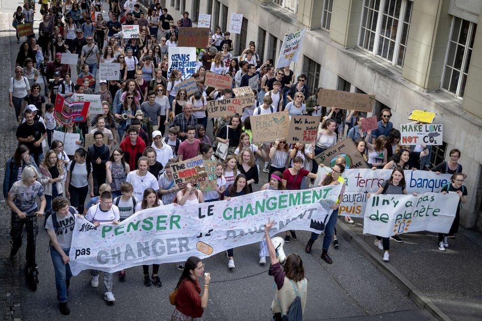Nouvelle grève pour le climat à Fribourg