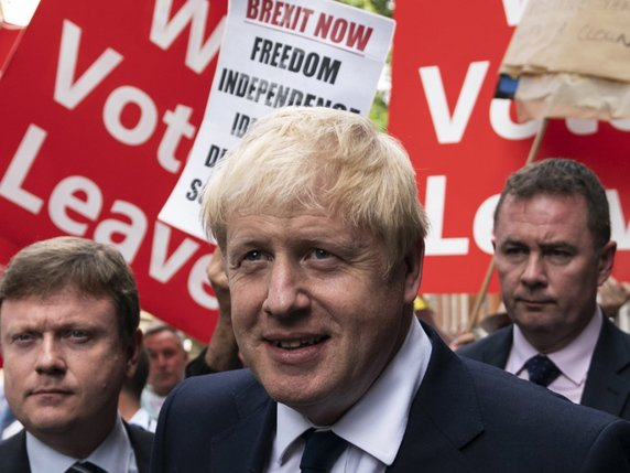 Boris Johnson prendra ses quartiers au 10 Downing Street. © KEYSTONE/EPA/WILL OLIVER
