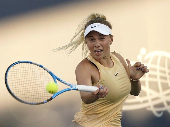 Anisimova forfait après la mort de son père